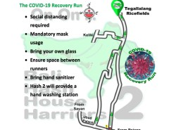 Bali Hash 2 Next Run Map #1469 The Kawai Resto Tegallalang