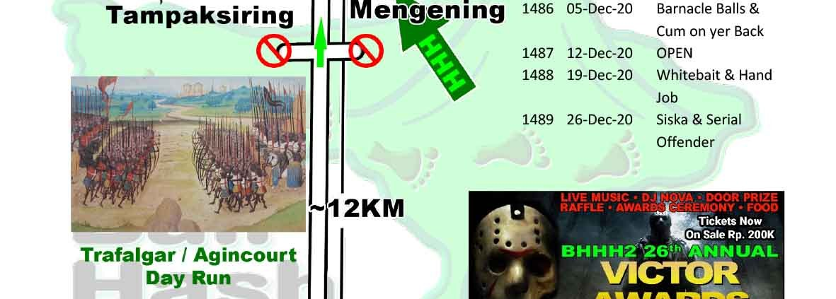 Bali Hash 2 Next Run Map #1480 Pura Mengening, Tampaksiring