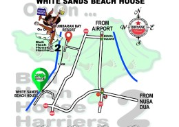 Bali Hash 2 Next Run Map #1483 Victor Awards Recovery Run White Sands Jimbaran