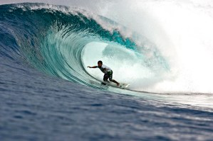 Indonesian surfer Dede Suryana surfing the other islands of Indonesia. May 2008 (c)Jason Childs 2008