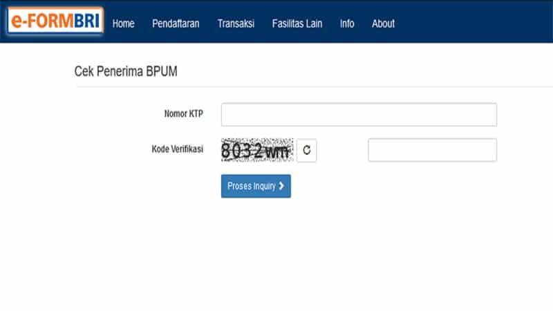 Buka Laman https //eform.bri.co.id/bpum untuk Lihat BPUM Tahap 3, Segera Cek