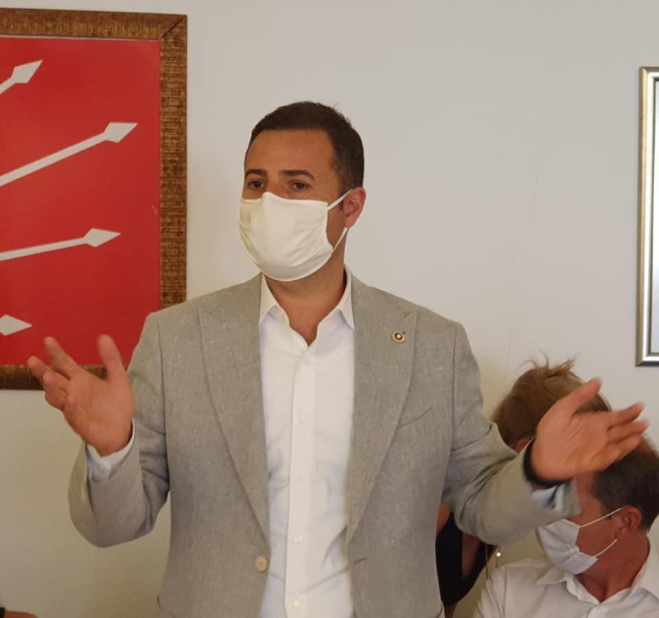 CHP'li Akın, yüz yıllık atıkları gündeme taşıdı