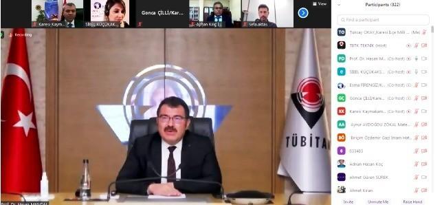 """""""Karesi Öğretmen Akademisi"""" TÜBİTAK Başkanı Mandal'ı ağırladı"""