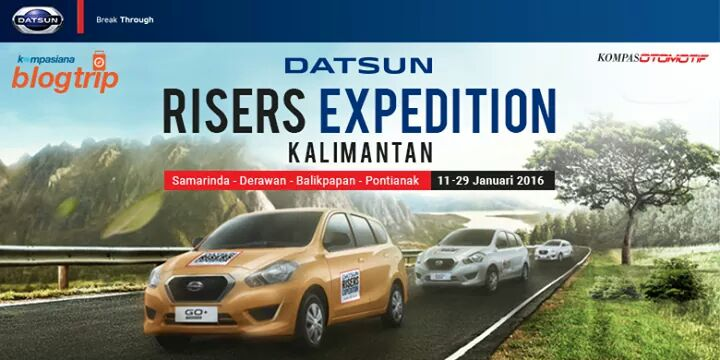 jadwal datsun risers expedition kalimantan