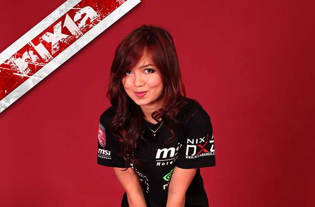 nixia atlet e-sports indonesia