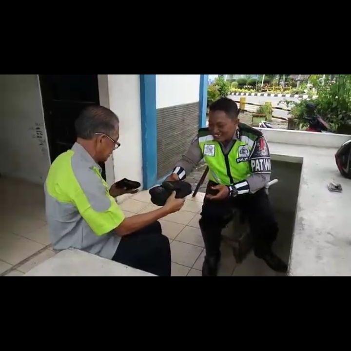 Balikpapanku - Polisi Jujur Balikpapan Pak Muji Prihatin