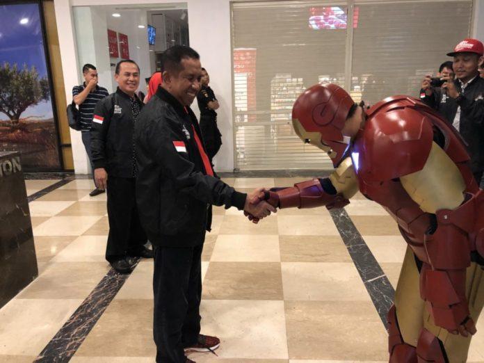 Iron man bertemu pak safaruddin