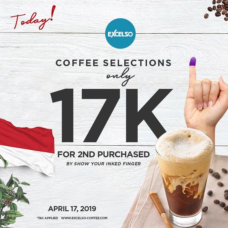 Promo Excelso 17 Ribu