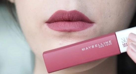lipstick maybelline matte