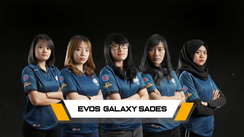 evos galaxy sades team