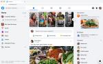 tampilan baru facebook beta