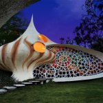 Balikpapanku - curved shell house design