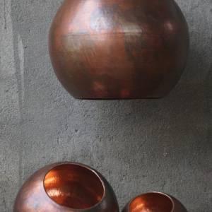 Original Bruneret Oxideret Balilampe