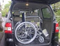 wheelchair hire bali tell city chairs pattern 4620 standard mobility weekly rate us 50