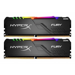 Kingston HyperX Furry 32GB - 16GB x2 DDR4 PC2666 RGB