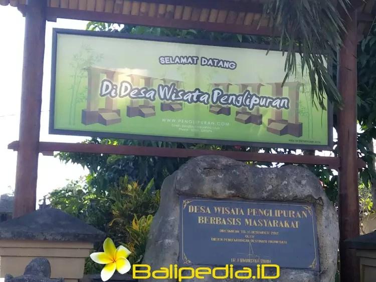 Tiket Masuk desa Penglipuran Bali