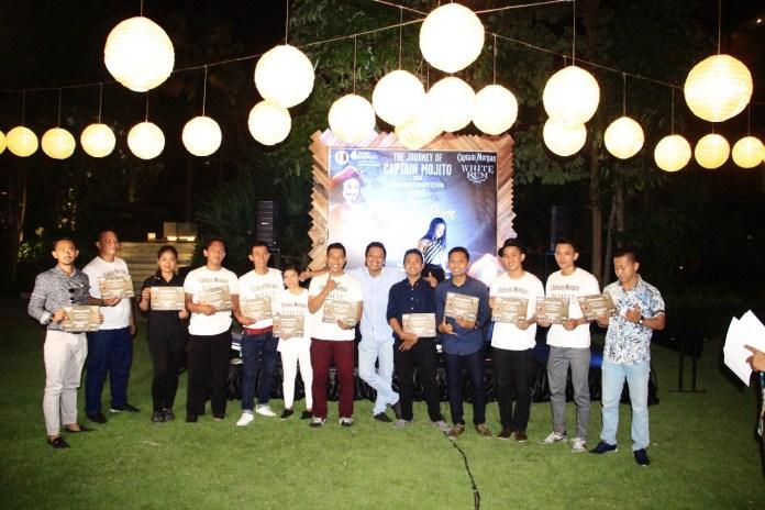 Winners of The Journey of Captain Mojito Burst 3. balipicturenews.com