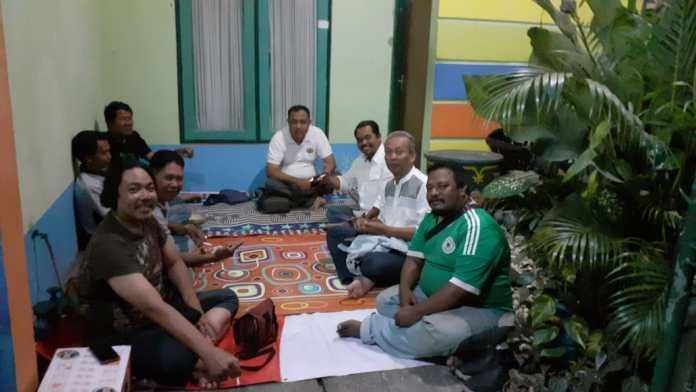 Bukber held by journalists in Bali.