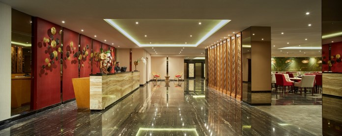 Lobby area of Four Star by Trans Hotel.