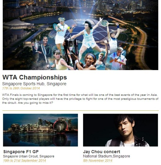 Worldwide Sports & Concert Events