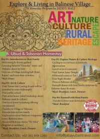 Ubud & Tabanan Homestay