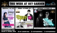 Events this week at Sky Gargen !
