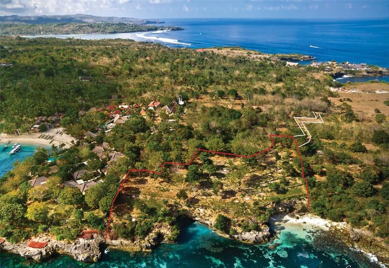 SALE: Beachfront Land – Nusa Lembongan