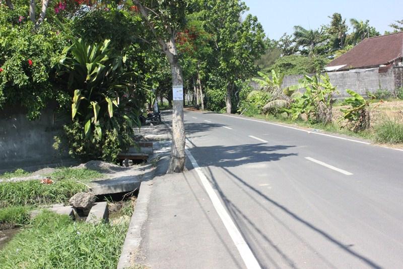 Land for sale in Brawa Canggu Bali, 5,700 sqom Price: IDR 1,500,000,000.00 per 100 sqm/are