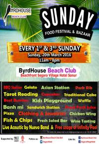 Sunday Food Festival – ByrdHouse Bali