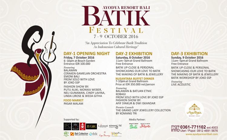 Ayodya Resort Bali Batik Festival