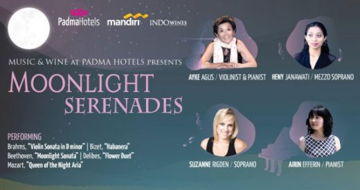 Music & Wine at Padma Hotels presents Moonlight Serenades
