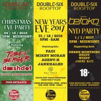 Double-Six Rooftop's Festive Events