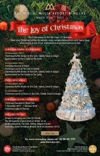 Christmas at the MULIA Nusa Dua