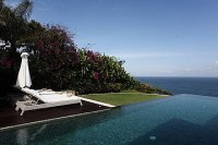 Sea view cliff front Villa at Bukit Hill Jimbaran Bali for sale