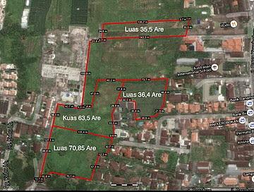 Land 17000 sqm ( 1,ha) for sale LSEM 170 in Seminyak Kuta Bali What app/mobile +62811398469 , em ...