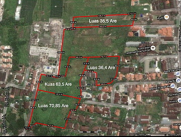 Land 17000 sqm ( 1,ha) for sale LSEM 170 in Seminyak Kuta Bali What app/mobile +62811398469 , em ...
