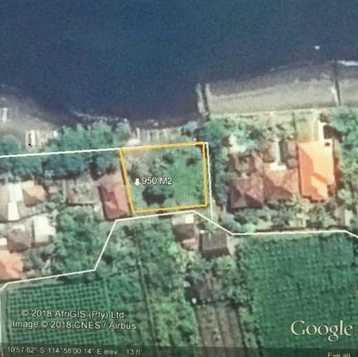 Beach front Land for sale in Lovina North coast Bali