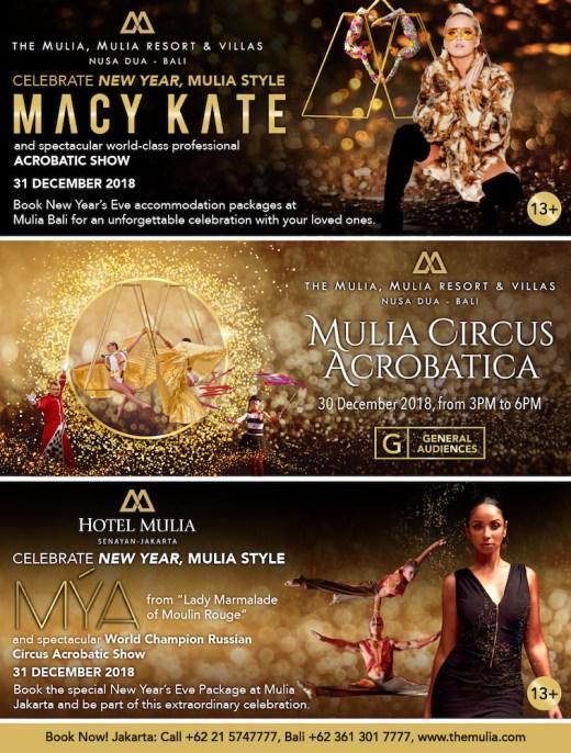 Celebrate at the Mulia Bali