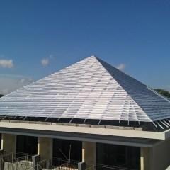 Rab Kanopi Baja Ringan Model Perisai / Limas – Bali Roofing