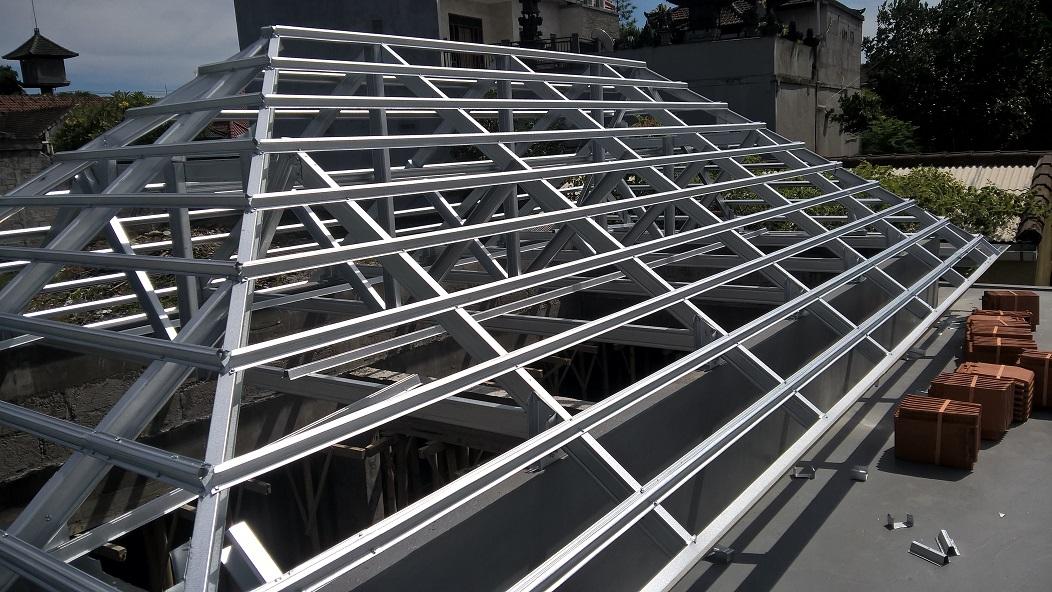 rangka atap baja ringan model limas perisai page 2 bali roofing