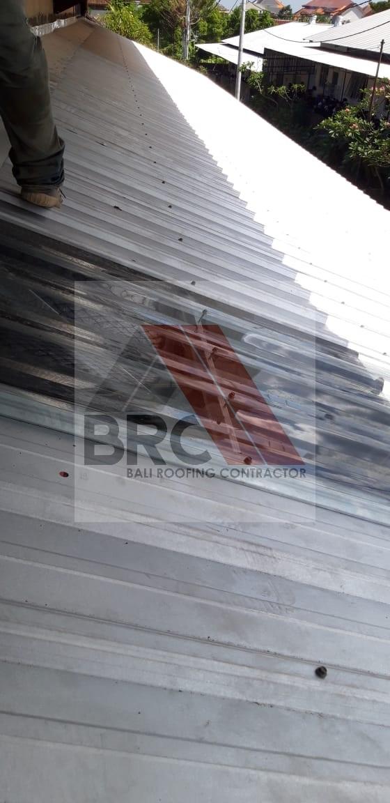 rangka atap baja ringan model limas kanopi – bali roofing