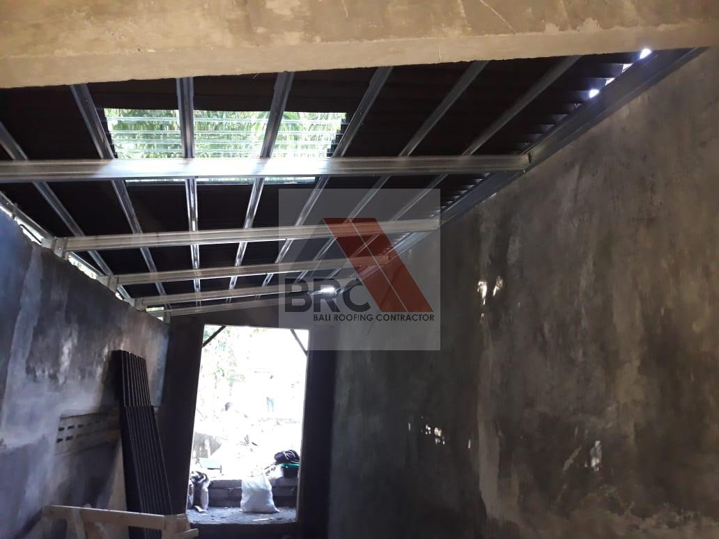 jarak reng baja ringan kanopi – bali roofing
