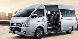 Toyota Hiace 17 seat