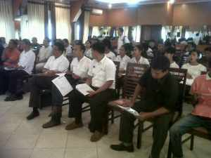 One day seminar RCBS for BHM villas buttlers at TSM
