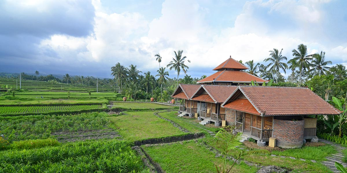 Bali Silent Retreat Private Bungalows, Single Rooms