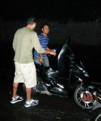 Panne de scooter
