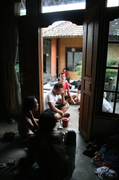 Sableng tattoo in Amed, Bali (tatouage balinais) (2)