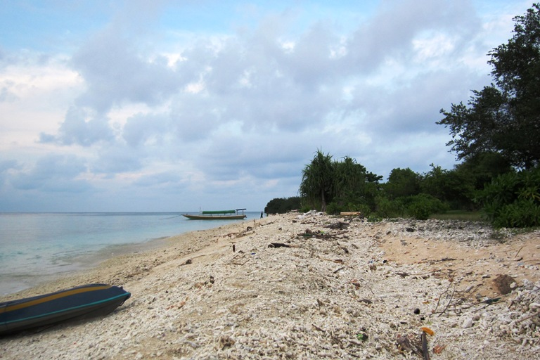 Plage de Gili Meno à Lombok - Copyright Balisolo