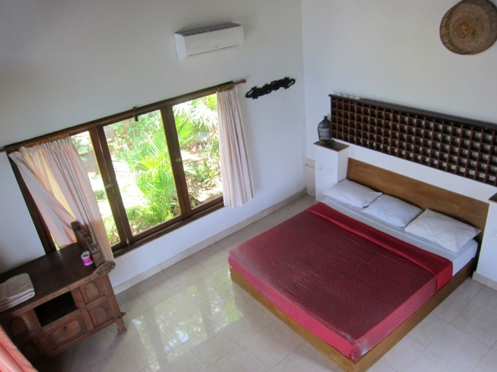 Room n°1 top at Wawa wewe rock homestay in Banuyning (Amed area), Karangasem, Bali, Indonesie