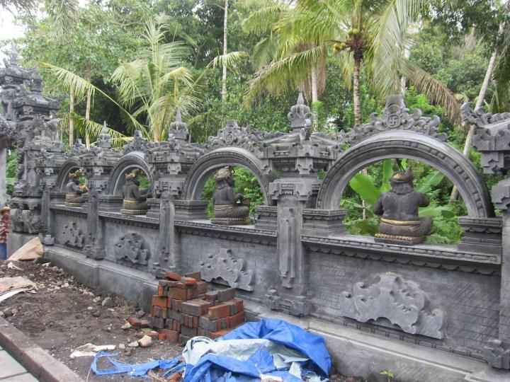 Centre de méditation en construction, Amlapura, Karangasem, Bali
